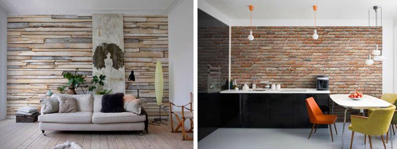 madera y piedra